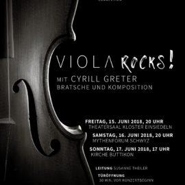 """""""VIOLA ROCKS!"""" – Konzert mit Cyrill Greter"""