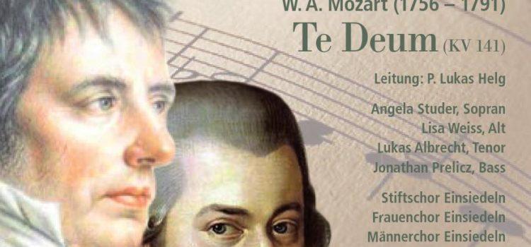 """Die """"Einsiedler Messe"""" von Mayr und Mozarts """"Te Deum"""""""