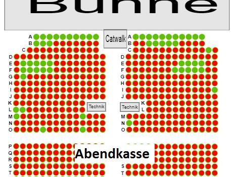 Tickets für die Show-Konzerte an der Abendkasse