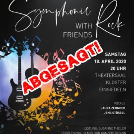 """Symphonic Rock with Friends"" abgesagt"