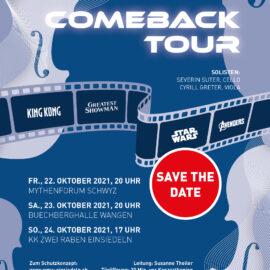 """Unser nächstes Konzert  – """"Comeback-Tour"""""""